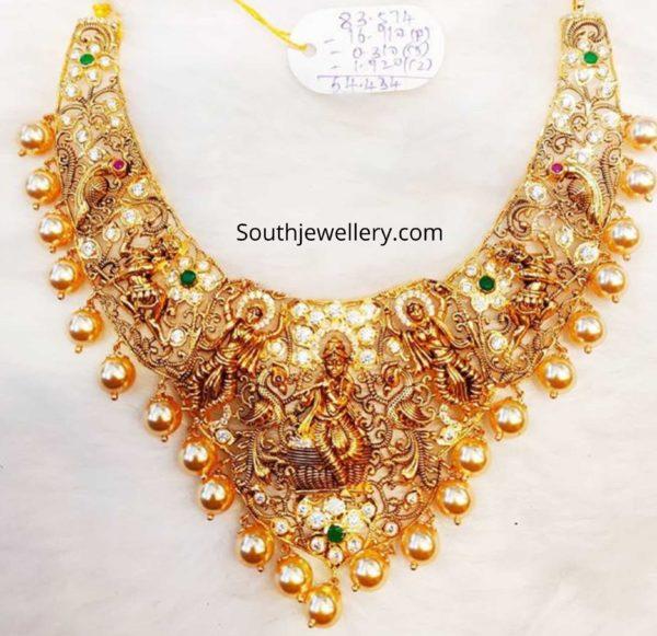 nakshi temple necklace designs 2020 (4)