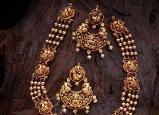 temple jewellery set (1)