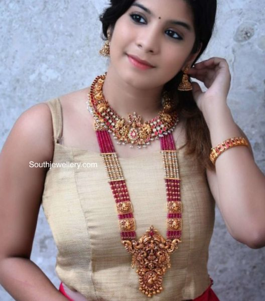 traditional gold jewellery by challani