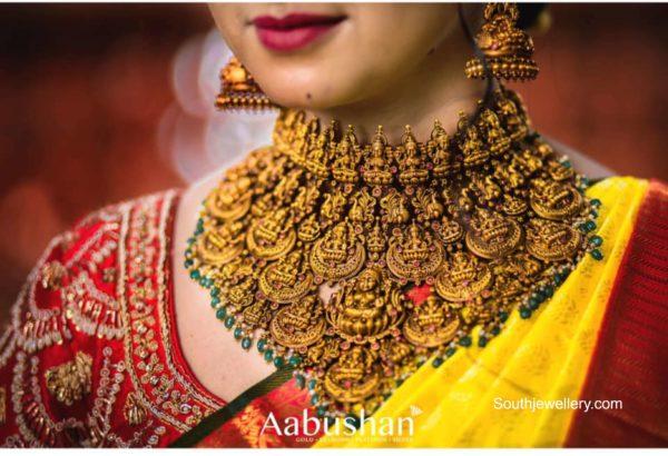 antique gold jewellery set (1)