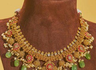 antique gold necklace (1)