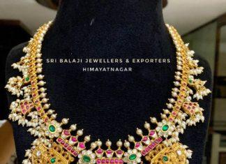 antique gold necklace (2)