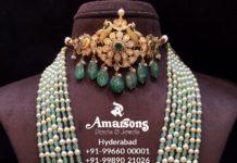 choker and beads mala