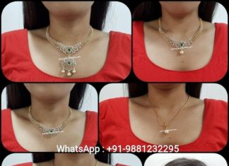 diamond emerald necklace (4)