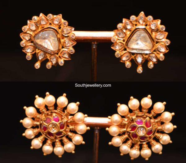 ear studs big size 22k gold (1)