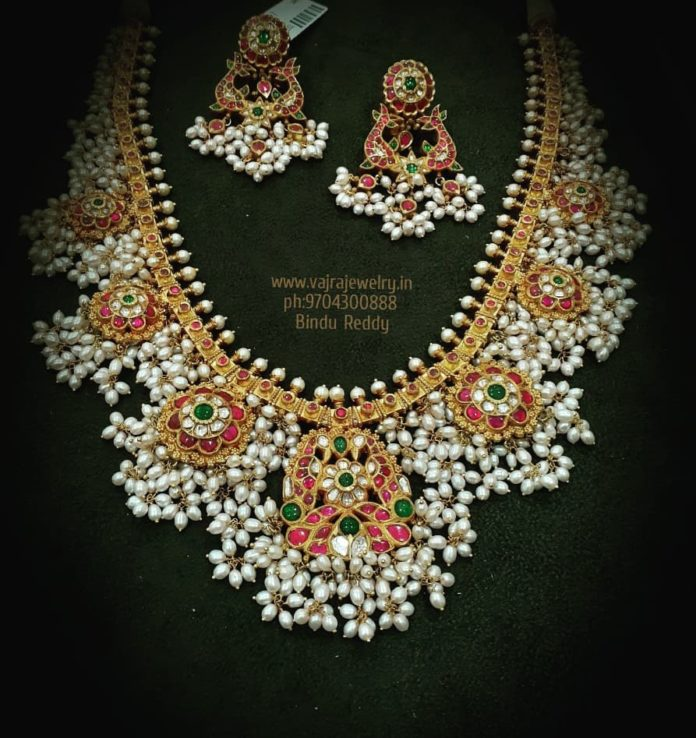 guttapusalu necklace set