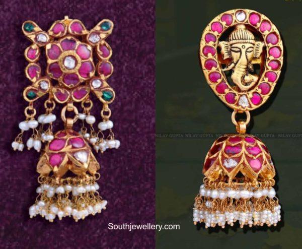 kundan jhumki designs (2)