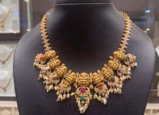lakshmi guttapusalu necklace (1)