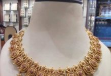 mango nakshi necklace