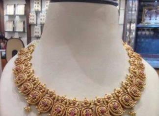 mango nakshi necklace