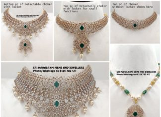 multi way detachable diamond necklace