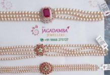 pearl choker designs