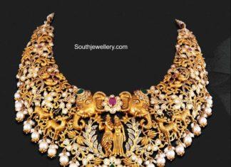radha krishna necklace (2)