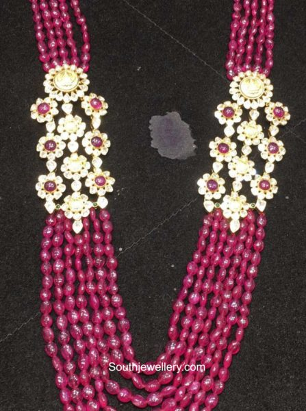 ruby beads necklace (4)