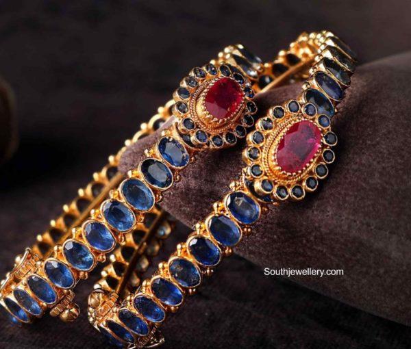 sapphire bangles