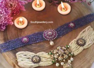 beads choker by krsala