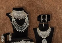 bridal diamond jewellery
