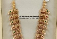 bridal gold haram set