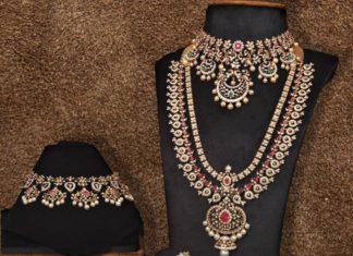 diamond jewellery set by jatin mor jewels