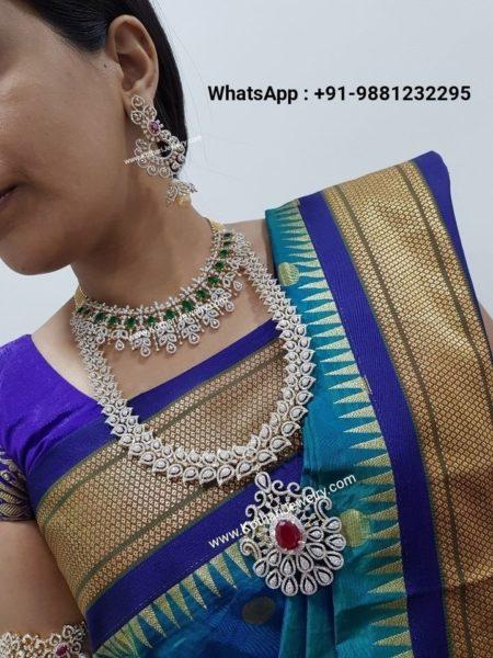 diamond necklace haram kothatri