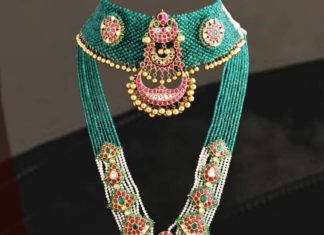 emerald choker and long haram
