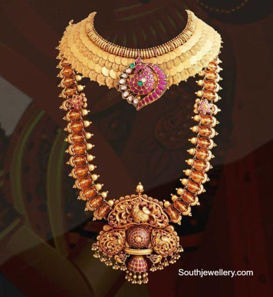 kasu necklace and haram