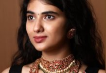 kundan choker and layered haram