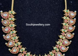 kundan mango necklace (1)