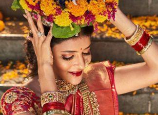 lakshmi manchu in traditional jewellery