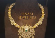 latest gold necklace designs 22k gold (3)