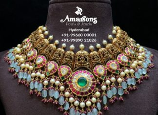 nakshi kundan necklace