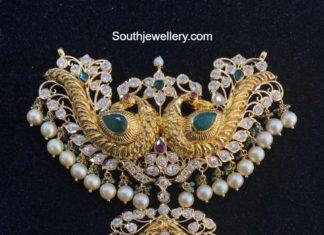 peacock pacchi pendant