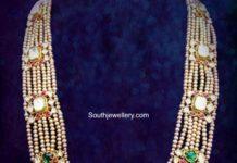 pearl polki haram umrao jewels