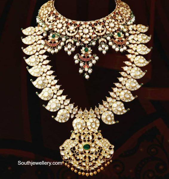 polki necklace haram