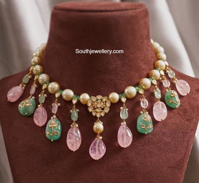 tanzanite beads necklace (2)