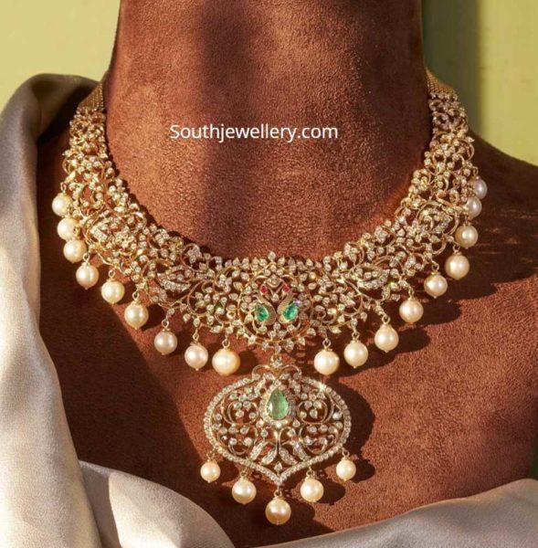 closed setting diamond necklace (4)