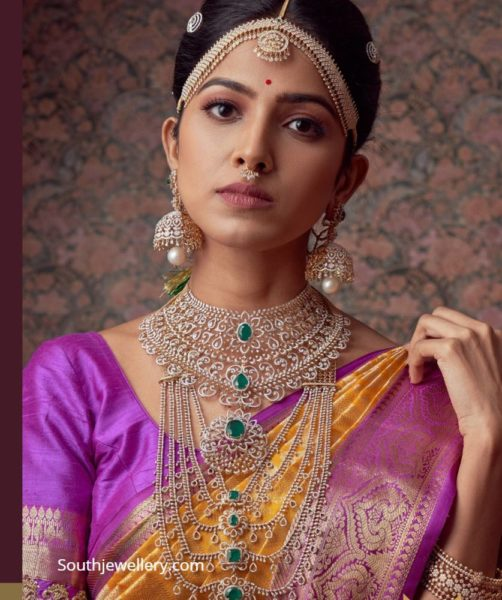 diamond choker and haram by mangatrai neeraj (1)