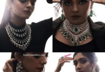diamond emerald jewellery set by mangatrai (4)