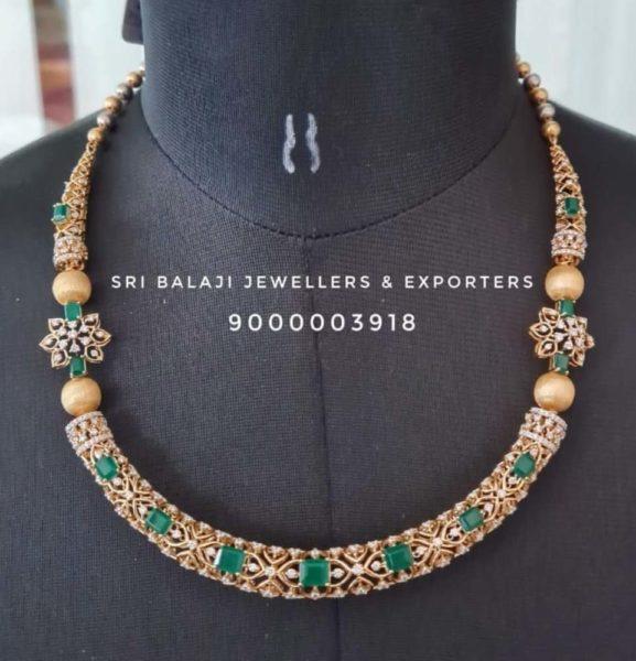 diamond kante necklace