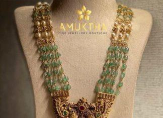 emerald beads long haram (2)
