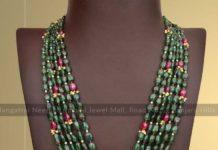 emerald beads long haram