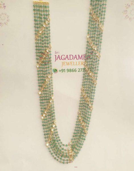 emerald beads mala (4)