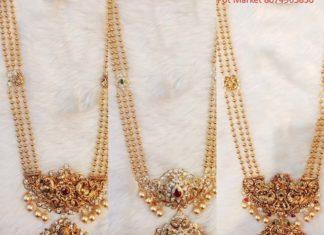 gold balls haram with pendant