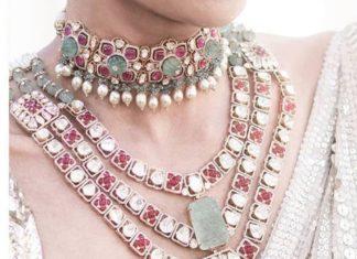 jadau jewelelry set
