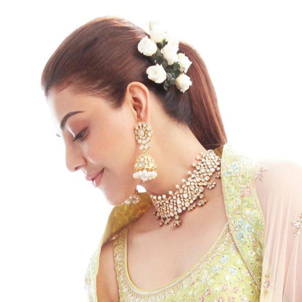 kajal aggarwal marriage jewellery