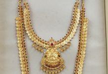 kasu necklace and haram (2)