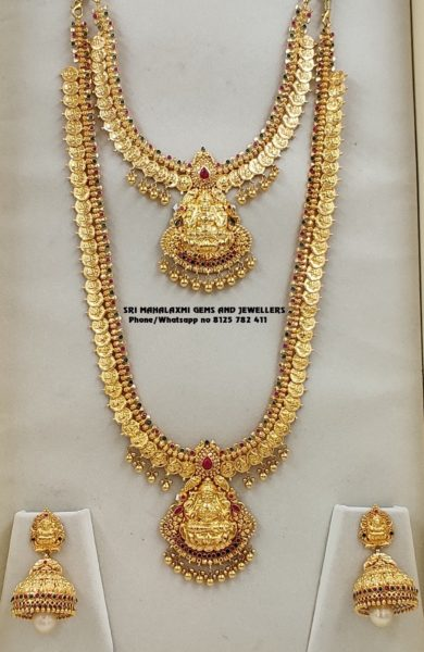 kasu necklace and haram (2)