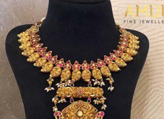 kundan nakshi necklace