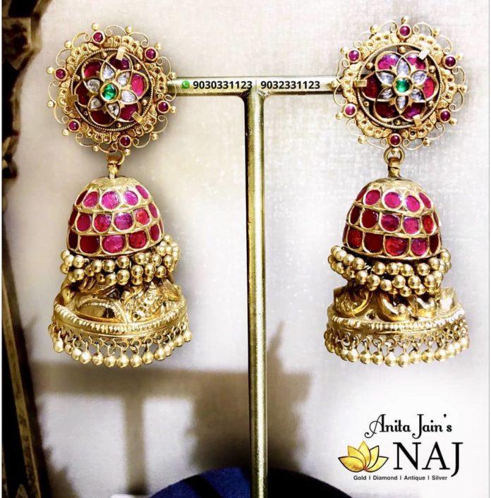 latest gold earring (1)