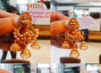 latest gold earring (2)